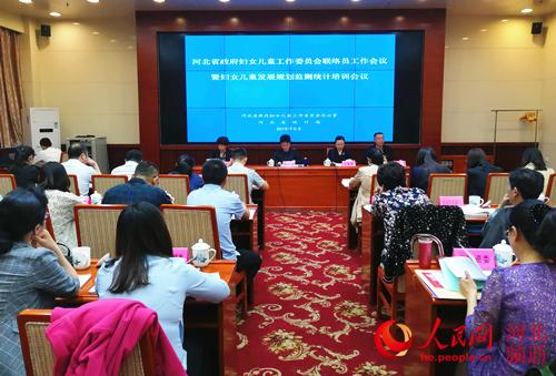图为河北省召开妇女儿童工作委员会联络员工作会议暨妇女儿童发展规划监测统计培训会议。杨文娟 摄