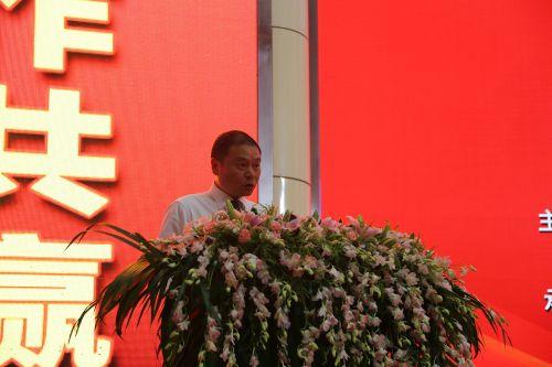 永康市委副书记、市长朱志杰主持开幕式。中国经济导报 记者沈贞海 摄