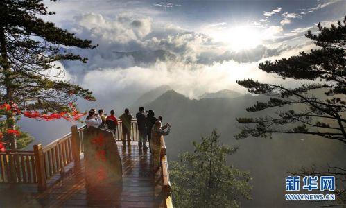 (美丽中国)(10)陕西略阳雨后初霁 森林公园美若仙境