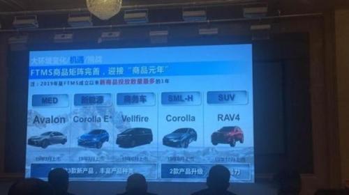 丰田新车计划曝光 新一代卡罗拉年内上市