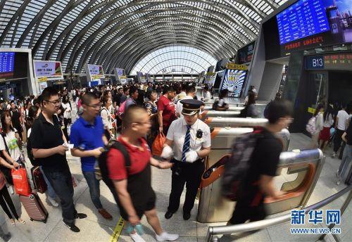 #(社会)(4)铁路迎来端午小长假返程客流高峰