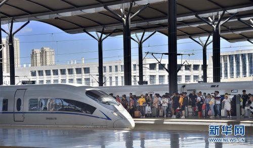 #(社会)(2)铁路迎来端午小长假返程客流高峰