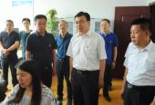 山西吕梁市委常委、宣传部长任忠在临县调研宣传思想文化工作