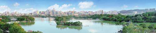 环境优美的惠州  何明远/摄