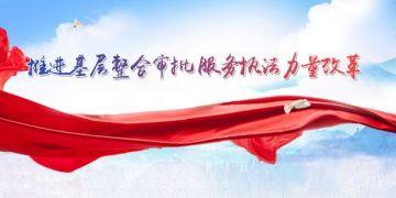 """陕西省商洛市围绕""""四个一""""深化行政审批改革"""