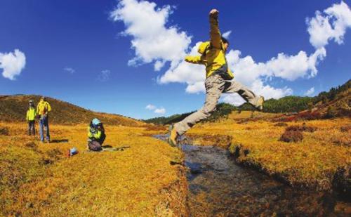 图为已退耕还林的云南省迪庆州维西县马场村。资料图片