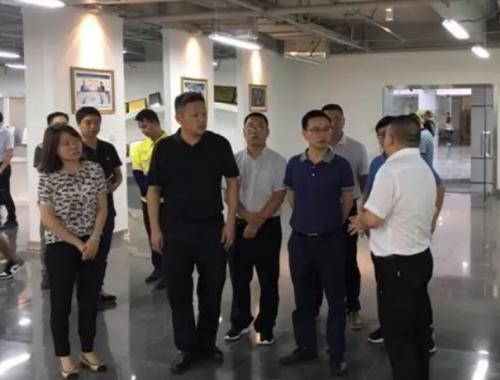 调研组调研遂宁射洪天齐锂业产业发展