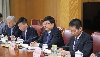 胡祖才会见柬埔寨计划部常务国务秘书林维拉