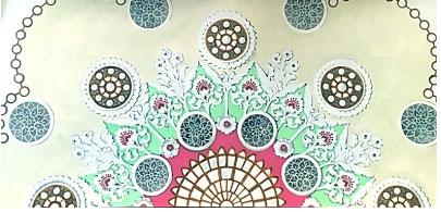 人民大会堂宴会厅天顶装饰(设计)常沙娜