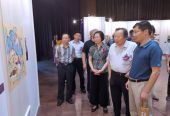 慶祖國70年華誕 海風·中國海派書畫名家作品展在奉賢·東方美谷巡展
