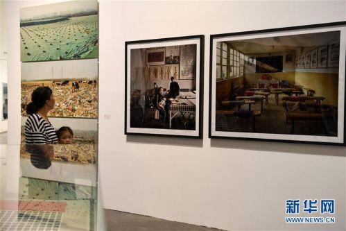 """(文化)(2)""""摄影180年在中国""""展览在银川开幕"""