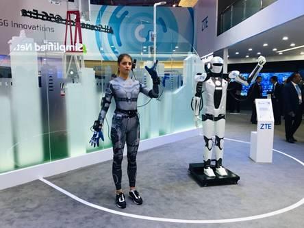5G商用为机器人产业发展带来新期待