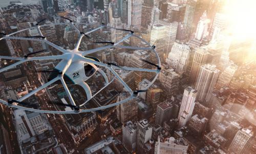布局城市空中出行 吉利与戴姆勒共同投资Volocopter