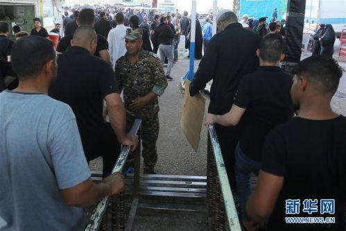 (国际)(2)伊拉克发生踩踏事件致31人死亡