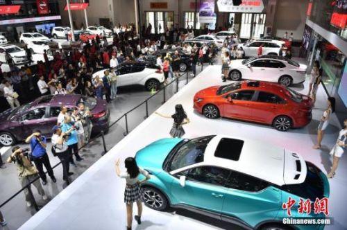资料图:车博会现场。 <a target='_blank' href='http://www.chinanews.com/'>中新社</a>记者 刘冉阳 摄
