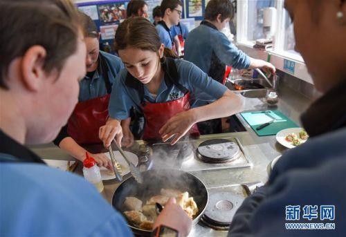 """(国际)(8)新西兰一中学举办""""发现中国日""""活动"""