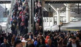 中秋小长假第一天铁路迎来客流高峰,全国铁路预计发送旅客1370万人次