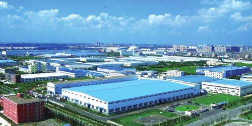 长春新区——产业集群一景。