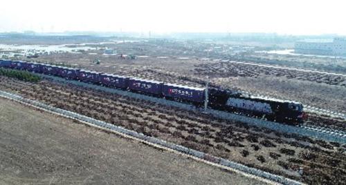 长春新区——长春国际港中欧班列。本版图片均由长春新区管委会提供
