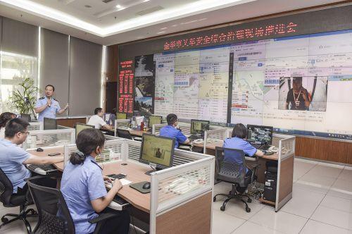 义乌市5G特种车联网管理平台实时显示