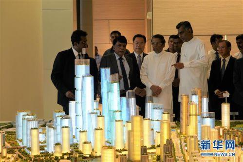 (国际·图文互动)(2)斯里兰卡总统:把港口城项目建成斯经济社会发展新引擎