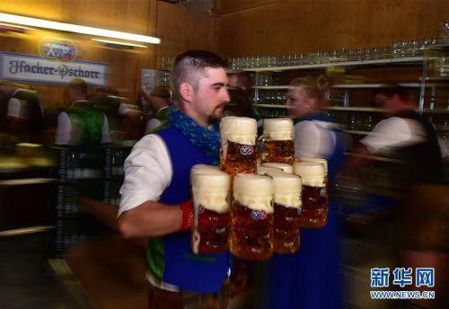 (国际)(6)第186届慕尼黑啤酒节开幕