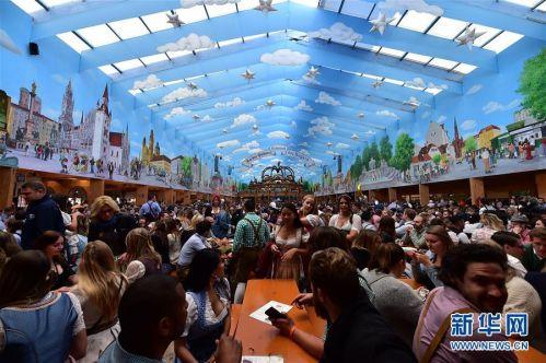 (国际)(5)第186届慕尼黑啤酒节开幕