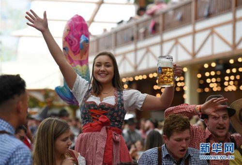(国际)(4)第186届慕尼黑啤酒节开幕