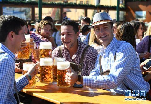 (国际)(1)第186届慕尼黑啤酒节开幕
