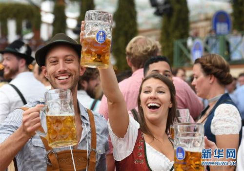 (国际)(3)第186届慕尼黑啤酒节开幕