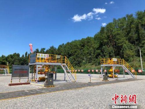 """国内首个大型页岩气田环保开采:来自三峡库区的""""绿色能源"""""""