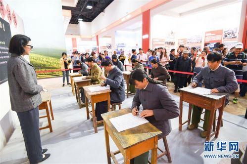 (社会)(4)庆祝中华人民共和国成立70周年大型成就展向公众开放