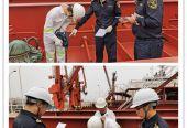 首批供北京大興機場進口航油在天津口岸順利通關