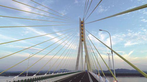 大桥跨南北 天堑变通途