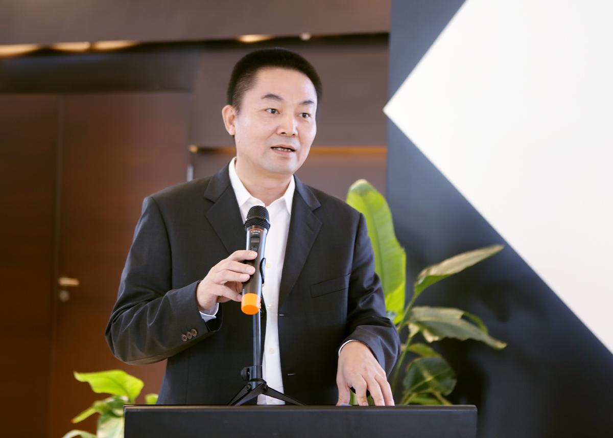 企业代表发言:卓志集团、卓志供应链科技有限公司董事长   洪志权