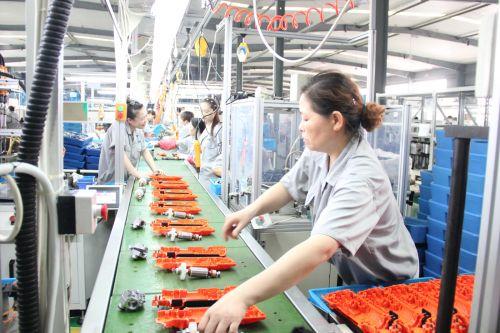 婺城工业经济发展茂盛