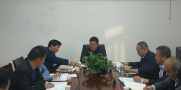 安徽省界首市召开110kv繁星输变电工程建设协调会