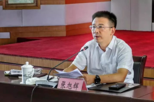 金华开发区党工委书记张旭辉