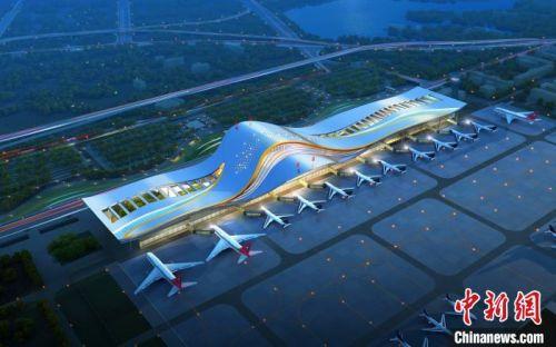三峡机场T2航站楼开建推动三峡临空经济区发展