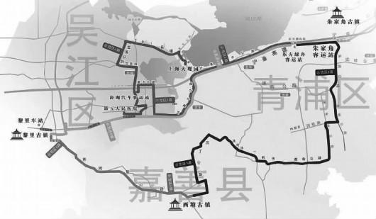長三角生態示范區首批公交線路即將開通 5條跨省線串起三地居民往來