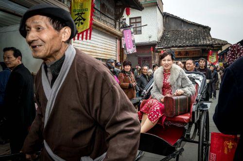 江南第一早茶文化民国风展