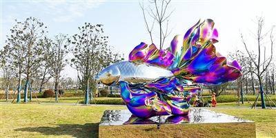 鱼跃奉贤-2019上海之鱼国际公共艺术双年展开幕