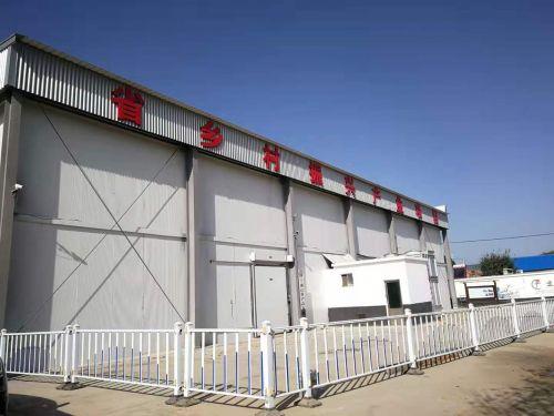 4、建成并運營的冷庫項目,設計冷儲能力規模1000噸。攝影:隋海波