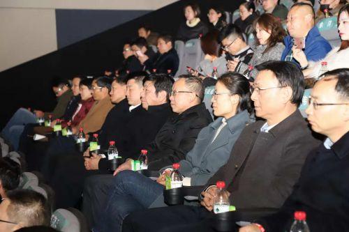 《黄牯头》首映礼现场。 陈俊 摄