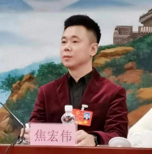 黑龙江省人大代表、焦氏眼科医院院长焦宏伟