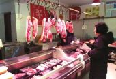 """三门峡肉蛋菜货源充足 """"天鹅之城""""市场平稳年味浓"""