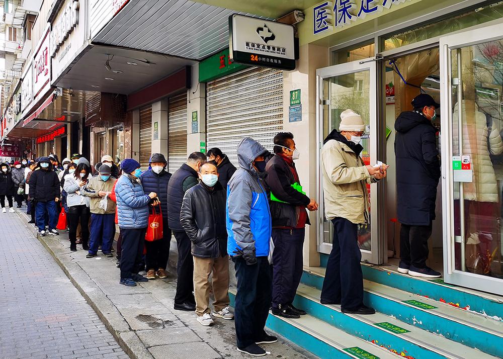 上海口罩供应正在恢复。张朝登摄