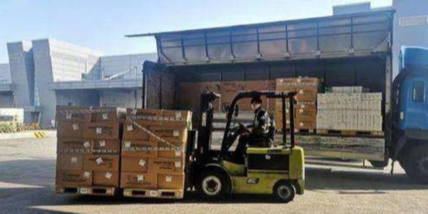 外交部:美方一批援助防疫物资于2月4日运抵武汉