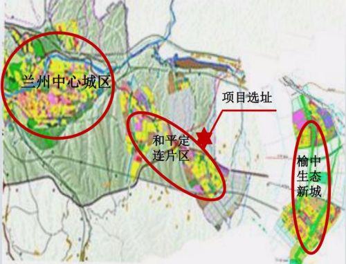 项目选址在榆中县卧龙川工业园内,占地500亩计划投资17亿元