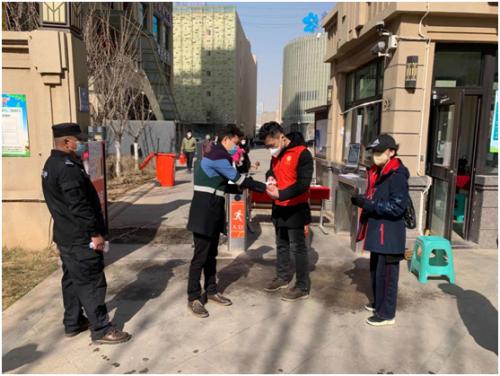 甘肃省检察院志愿者助力兰州一线防疫工作